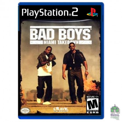 Игры PlayStation 2 Оригинал - Bad Boys II (PAL) |PS2| оригинал |Б/У