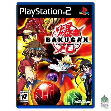 Bakugan Battle Brawlers (PAL) |PS2| оригинал| Б/У