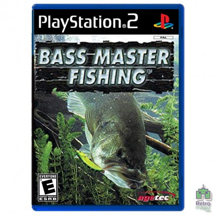 Игры PlayStation 2 Оригинал - Bass Master Fishing (E) оригинал PS2 Б/У