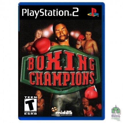 Игры PlayStation 2 Оригинал - Boxing Champions (PAL)| PS2 | оригинал| Б/У