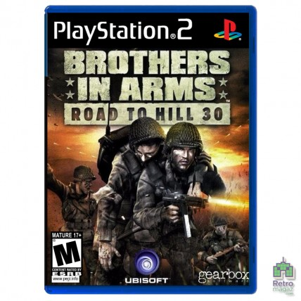 Игры PlayStation 2 Оригинал - Brothers in Arms Road to Hill 30 (PAL) PS2 оригинал Б/У