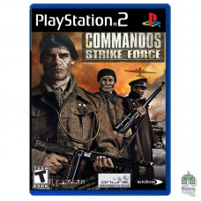 Commandos Strike Force (PAL) PS2 |оригинал |Б/У - интернет магазин Retromagaz