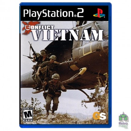 Игры PlayStation 2 Оригинал - Conflict Vietnam (PAL) PS2 |оригинал| Б/У