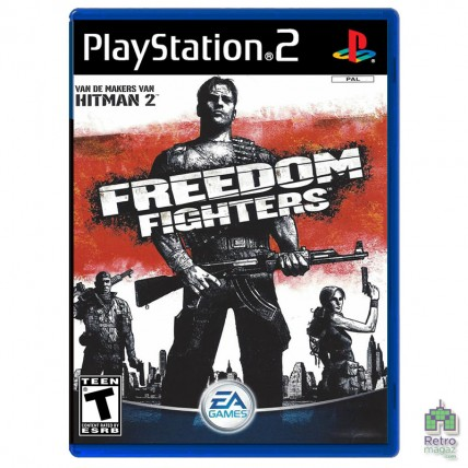 Игры PlayStation 2 Оригинал - Freedom Fighters (PAL) PS2 оригинал Б/У
