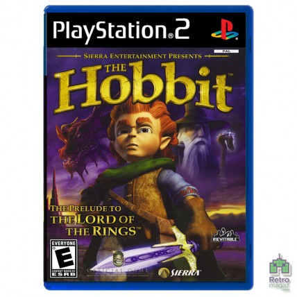 Игры PlayStation 2 Оригинал - Hobbit (PAL) PS2 оригинал Б/У