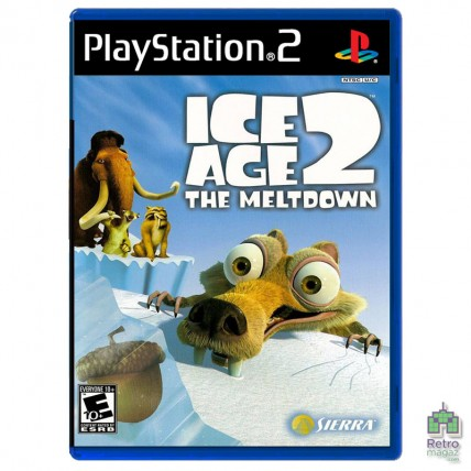 Игры PlayStation 2 Оригинал - Ice Age 2 The Meltdown (PAL) PS2 оригинал Б/У