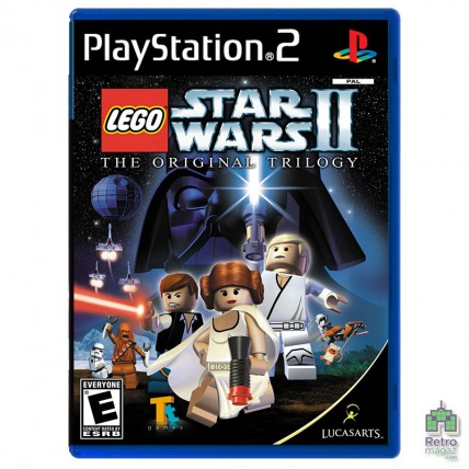 Игры PlayStation 2 Оригинал - Lego Star Wars 2 Original Trilogy (PAL) PS2 оригинал Б/У Уценка