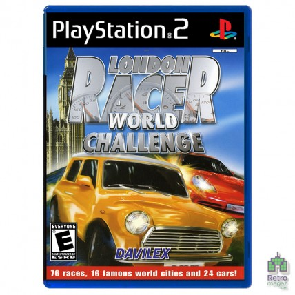 Игры PlayStation 2 Оригинал - London Racer World Challenge (PAL) PS2 оригинал Б/У