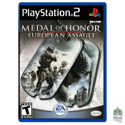 Игры PlayStation 2 Оригинал - Medal of Honor European Assault (PAL) PS2 оригинал Б/У