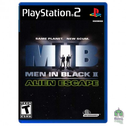 Игры PlayStation 2 Оригинал - Men in Black 2 Alien Escape (PAL) PS2 оригинал Б/У