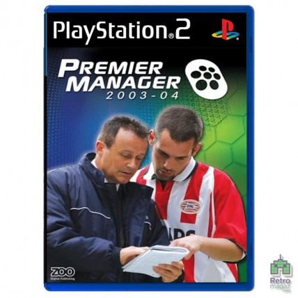 Игры PlayStation 2 Оригинал - Premier Manager 2003-2004 (PAL) PS2 оригинал Б/У