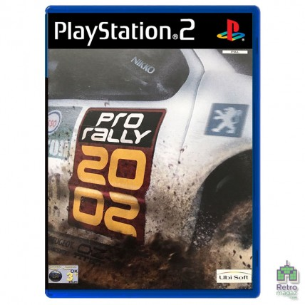 Игры PlayStation 2 Оригинал - Pro Rally 2002 (PAL) PS2 оригинал Б/У