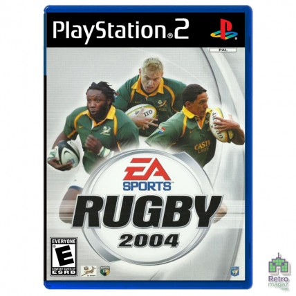 Игры PlayStation 2 Оригинал - Rugby 2004 (PAL) PS2 оригинал Б/У