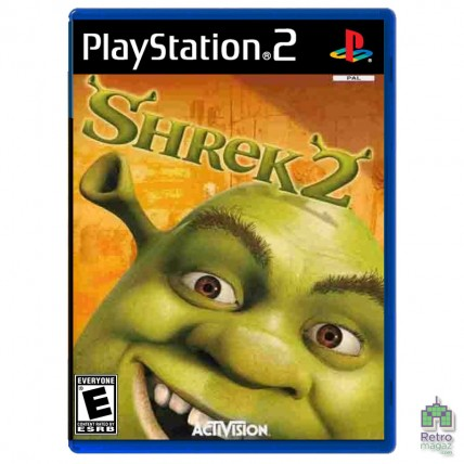 Игры PlayStation 2 Оригинал - Shrek 2 (PAL) PS2 оригинал Б/У