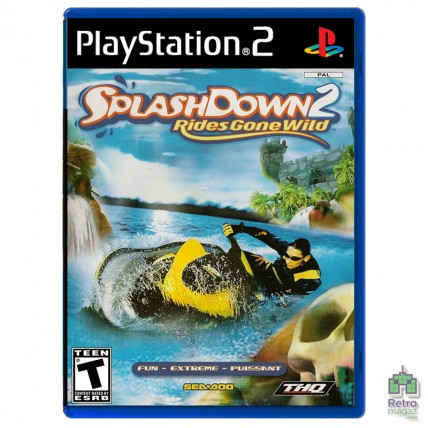 Игры PlayStation 2 Оригинал - Splashdown 2 Rides Gone Wild (PAL) PS2 оригинал Б/У
