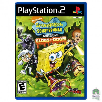 Игры PlayStation 2 Оригинал - SpongeBob SquarePants featuring Nicktoons Globs of Doom (PAL) PS2 оригинал Б/У