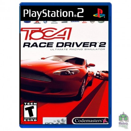 Игры PlayStation 2 Оригинал - TOCA Race Driver 2 (PAL)| PS2 |оригинал| Б/У (Уценка)