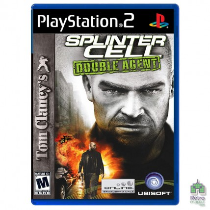 Игры PlayStation 2 Оригинал - Tom Clancy's Splinter Cell Double Agent (PAL) PS2 оригинал Б/У