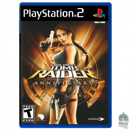Игры PlayStation 2 Оригинал - Tomb Raider Anniversary (PAL) PS2 оригинал Б/У