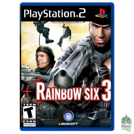 Игры PlayStation 2 Оригинал - Tom Clancy's Rainbow Six 3 (PAL)| PS2| оригинал |Б/У