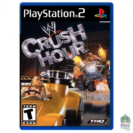 Игры PlayStation 2 Оригинал - WWE Crush Hour (PAL)| PS2| оригинал| Б/У