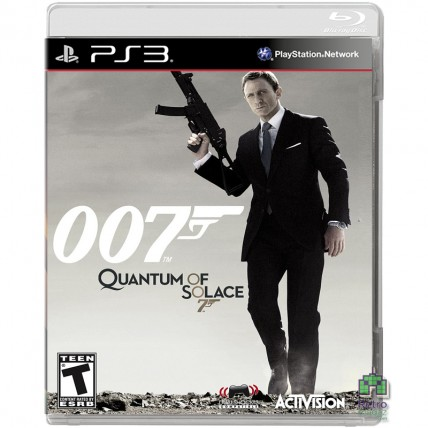 Игры PlayStation 3 - 007 Quantum of Solace PS3