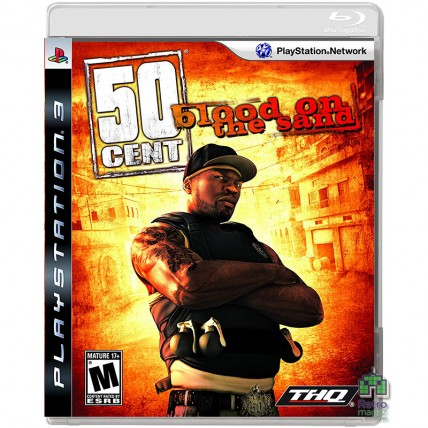 50 Cent Blood on the Sand Game ENG PS3 Б/У