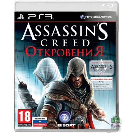 Игры PlayStation 3 - Assassin's Creed Revelations | Откровення Російською PS3