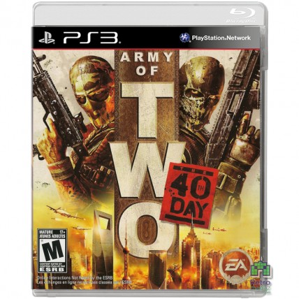 Игры PlayStation 3 - Army of Two 40 Day PS3