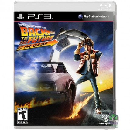 Игры PlayStation 3 - Back to the Future The Game PS3