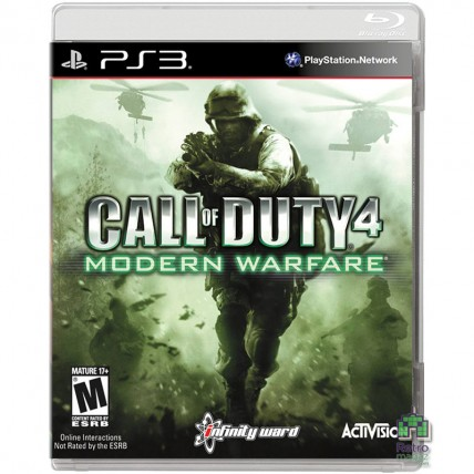 Игры PlayStation 3 - Call of Duty 4 Modern Warfare PS3