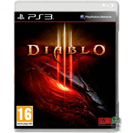 Игры PlayStation 3 - Diablo 3 РУС PS3