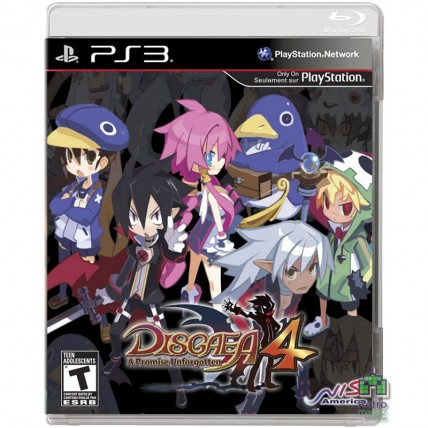 Игры PlayStation 3 - Disgaea 4 A Promise Unforgotten PS3