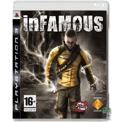 Игры PlayStation 3 - inFamous | Дурная Репутация РУС PS3