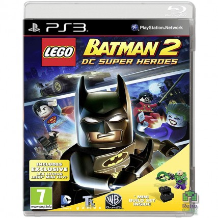 Игры PlayStation 3 - Lego Batman 2 DC Super Heroes РУС PS3 Новая