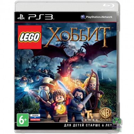 Игры PlayStation 3 - Lego Hobbit РУС PS3