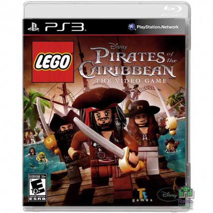 Игры PlayStation 3 - Lego Pirates of Caribbean VideoGame PS3