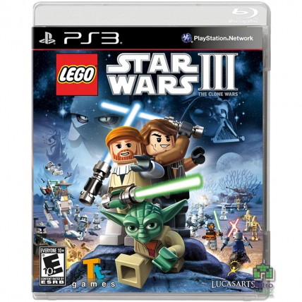 Игры PlayStation 3 - Lego Star Wars 3 the Clone Wars PS3