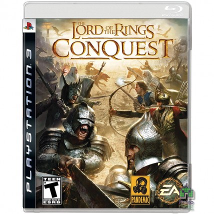 Игры PlayStation 3 - Lord of The Rings ConQuest PS3