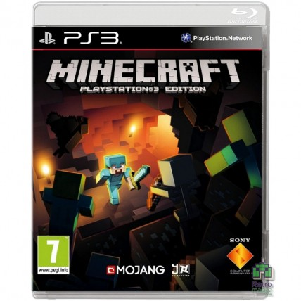Игры PlayStation 3 - Minecraft Playstation 3 Edition Російською для PS3
