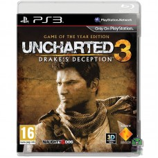 Uncharted 3 Drake's Deception Game Of The Year Edition РУС PS3 - интернет магазин Retromagaz