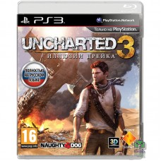 Uncharted 3 Drake's Deception РУС PS3 - интернет магазин Retromagaz