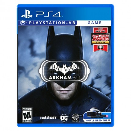 Игры PlayStation VR - Batman Arkham ENG Новий PS4 VR