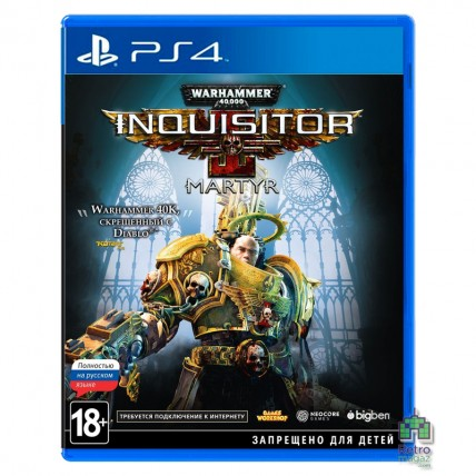 Warhammer 40000 Inquisitor Martyr РУС PS4