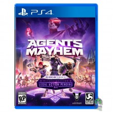 Agents of Mayhem Retail Edition ENG Новый PS4
