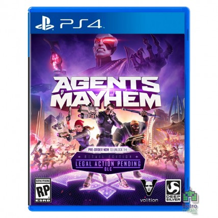 Игры PlayStation 4 Новые - Agents of Mayhem Retail Edition ENG Новий PS4