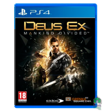 Deus Ex Mankind Divided РУС Б/У PS4 - интернет магазин Retromagaz
