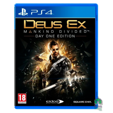 Deus Ex Mankind Divided SteelBook Edition РУС Б/У PS4 - интернет магазин Retromagaz