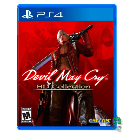 Игры PlayStation 4 Новые - Devil May Cry HD Collection PS4