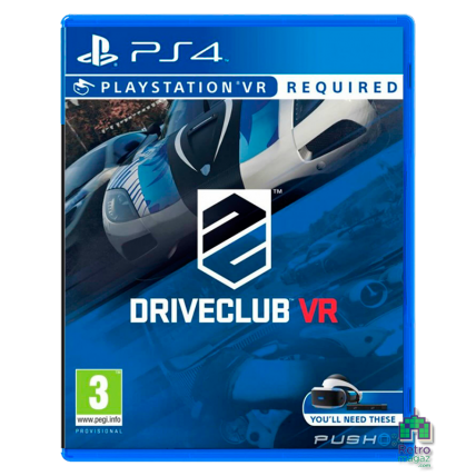 DriveClub РУС PS4 VR